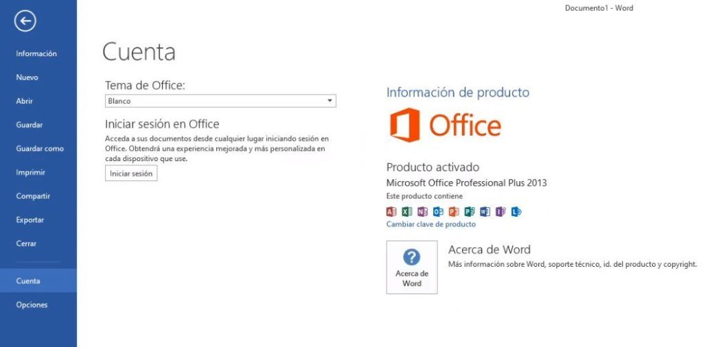 Office dos mil trece sin coste